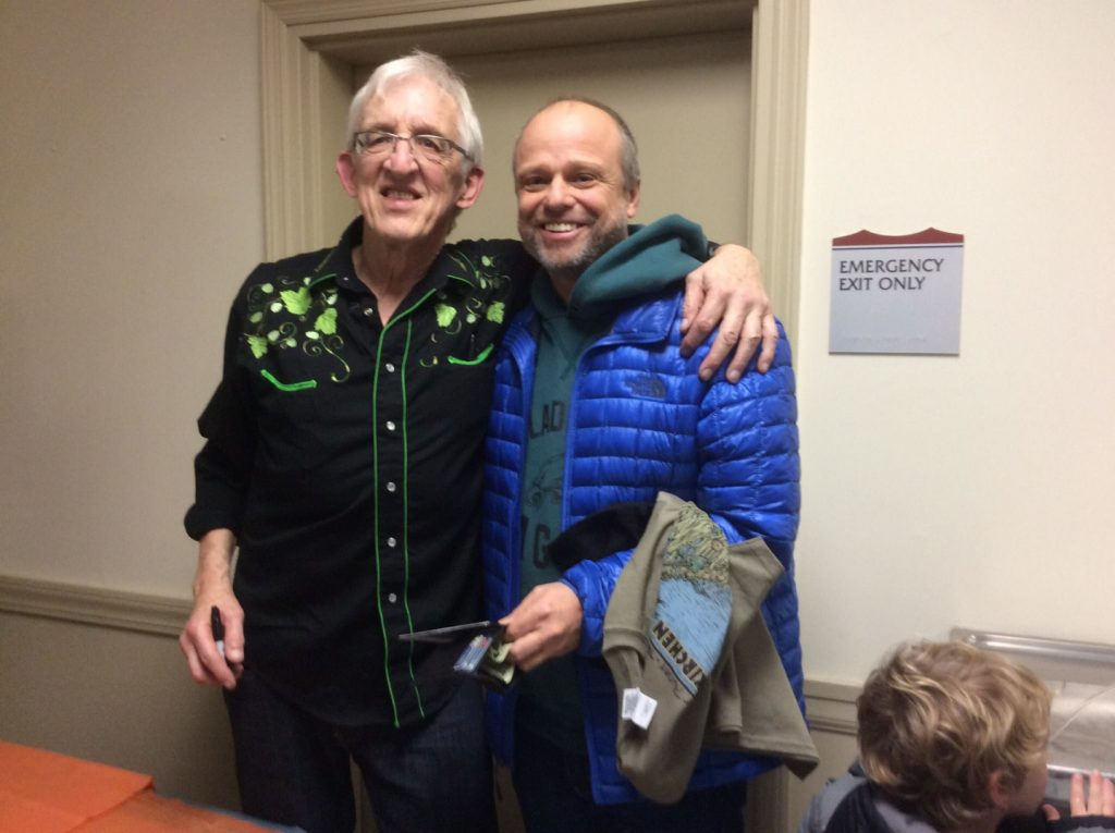 Bill Kirchen with Little Buddy